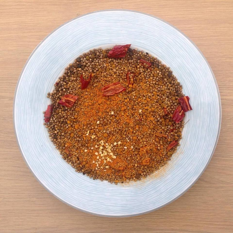 Dry roasted spices... your kitchen smells better than a freshly popped can of tennis balls