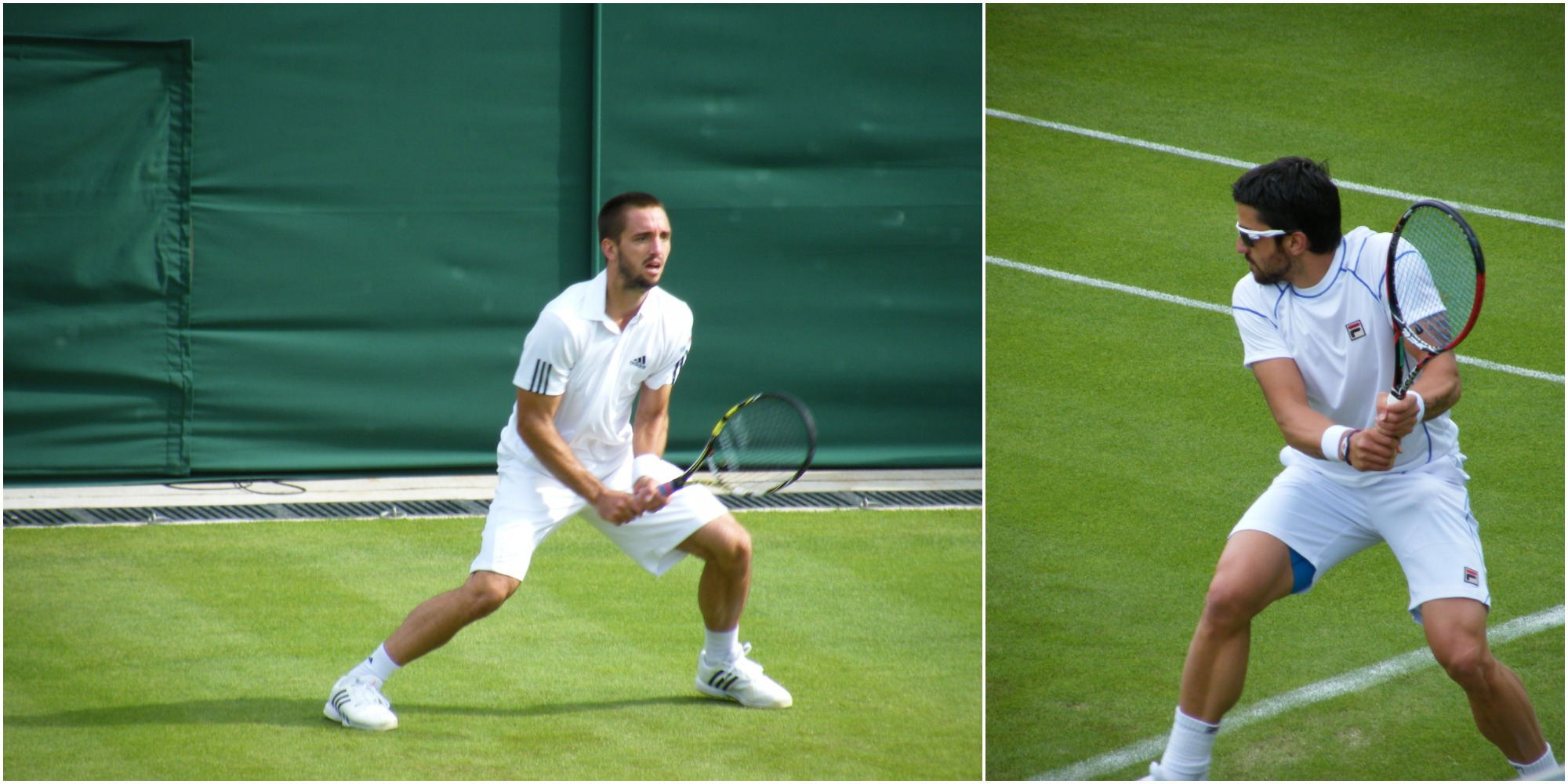 Playing for personal pride instead of country this time... Viktor Troicki and Janko Tipsarević.