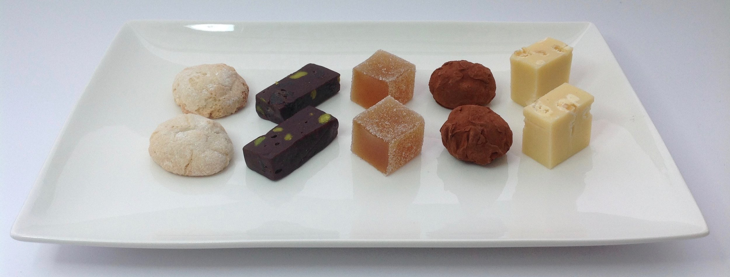 The new recipe took centre stage in my petits fours offering a few nights later