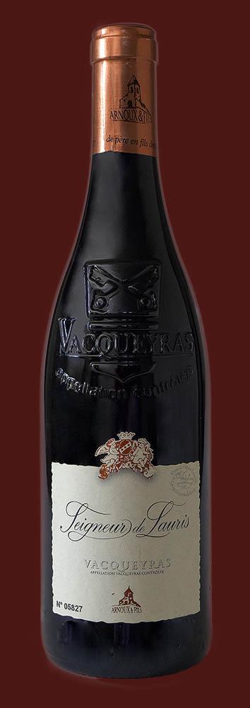 Vacqueyras Seigneur de Lauris rouge (old vines)