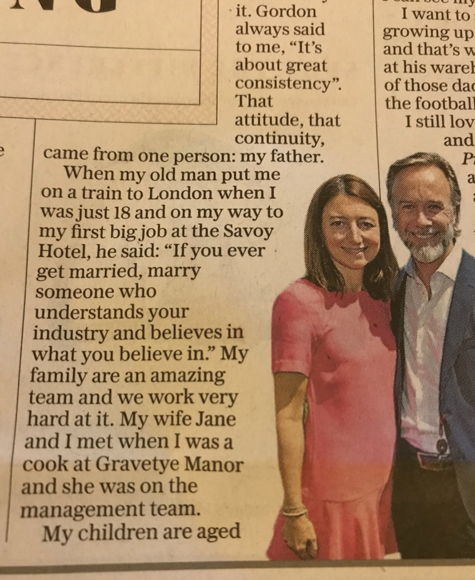 From the Weekend Telegraph, December 2017