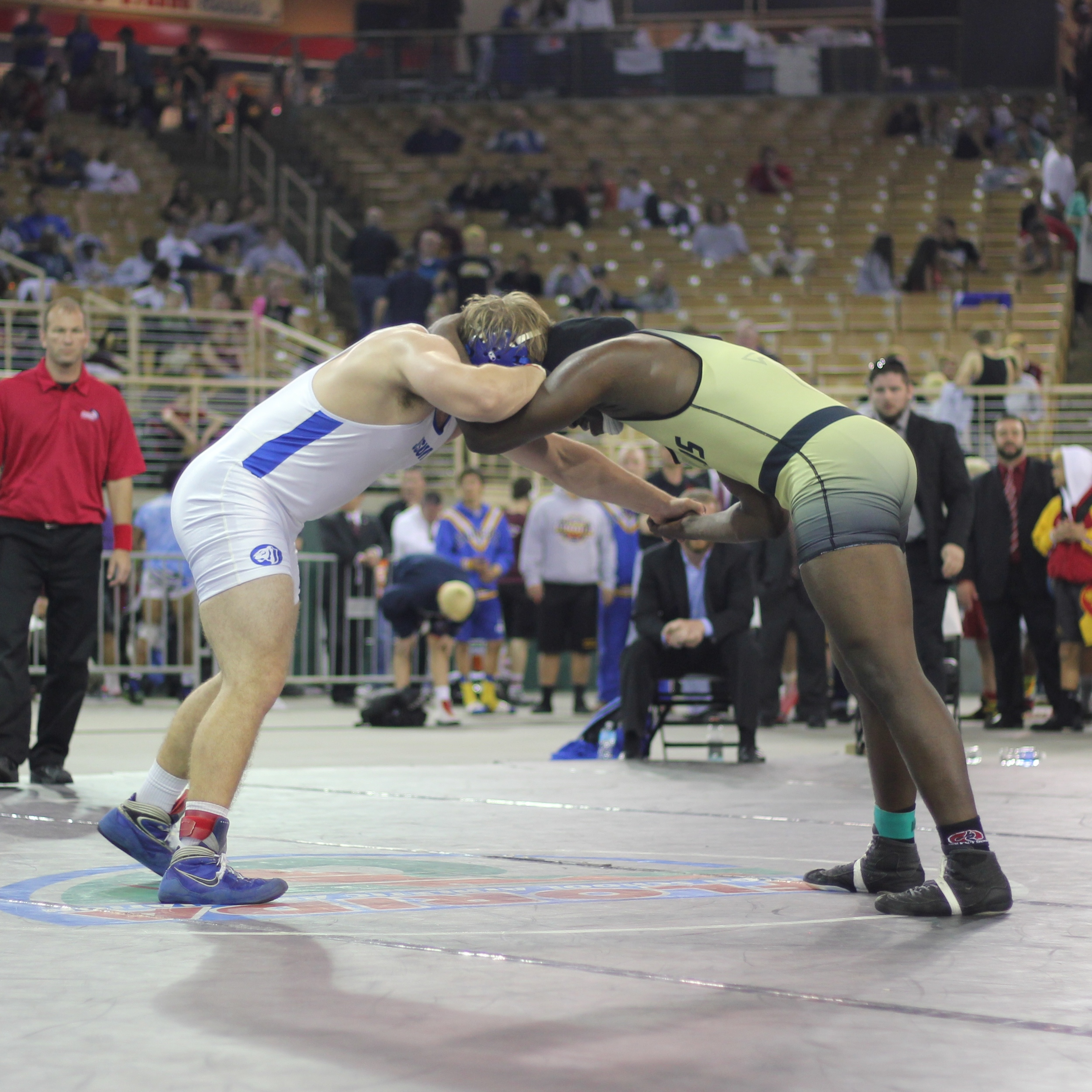 Mosco beat Warren 5-4 2 ot to win the 2015 2A 220 lb.title