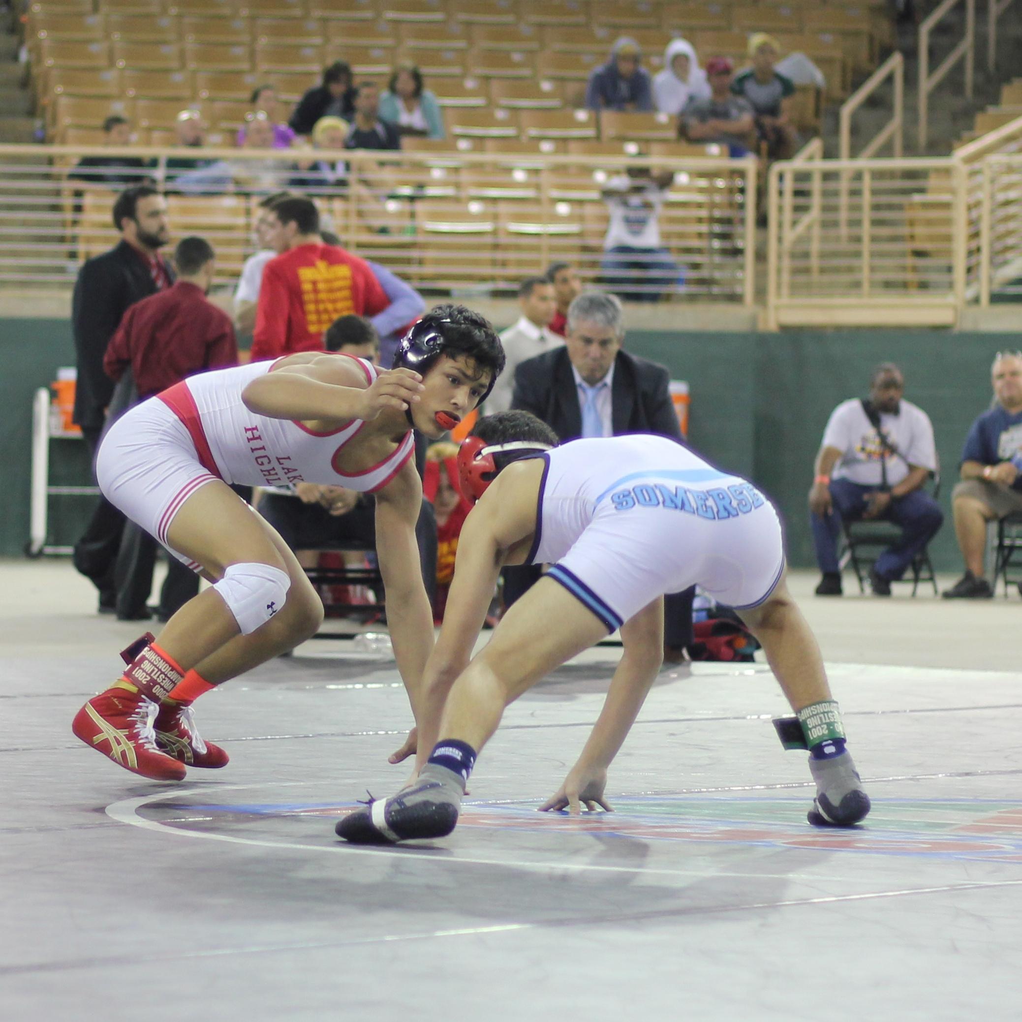 Silva beat Talshahar 15-4 to win the 2015 1A 113 lb.title