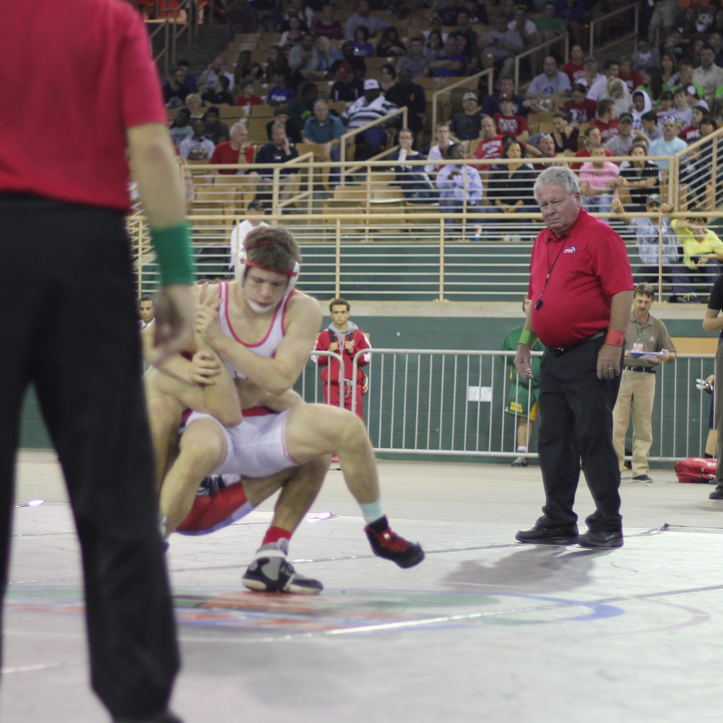 Rogers beat Byelick 5-3 ot to win the 2015 1A 145 lb. title