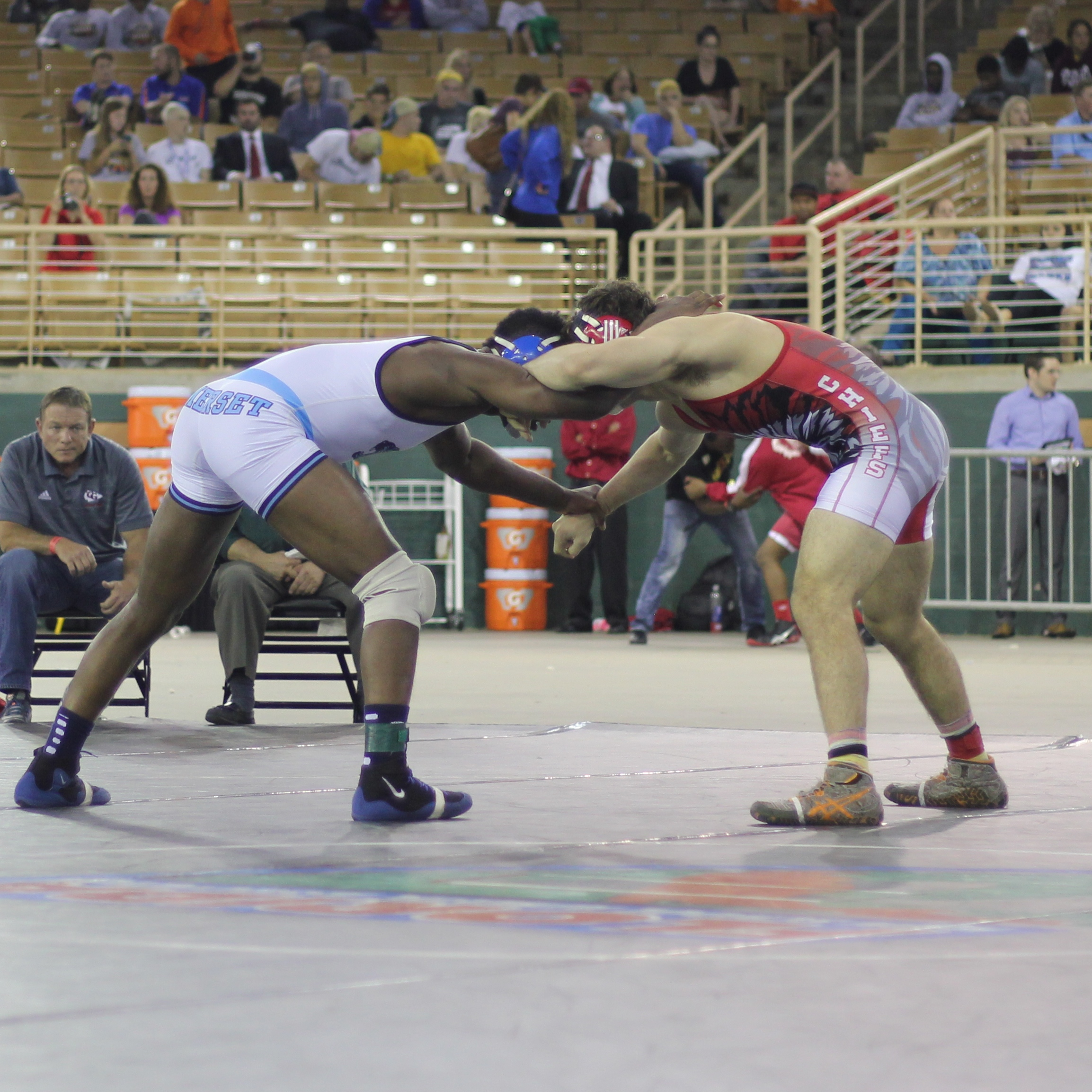 Reggler beat Sannasardo 5-3 ot to win the 2015 1A 182 lb. title