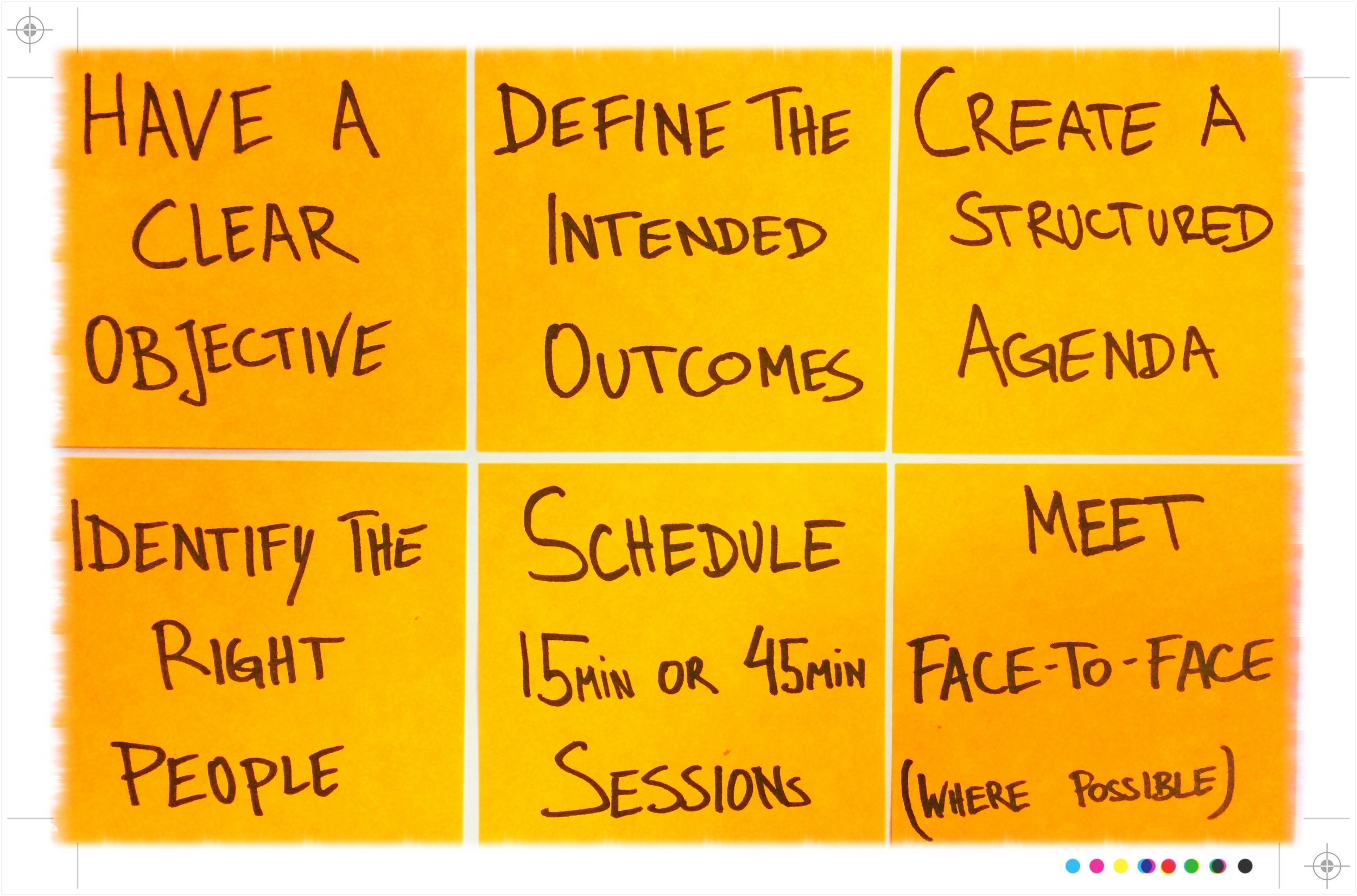 Effective Meetings - Before the meeting