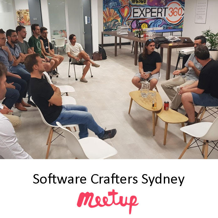 Pragmateam is one of the organisers of the Software Crafters Sydney Meetup group that meets once per month to learn and share all things about well crafted software.