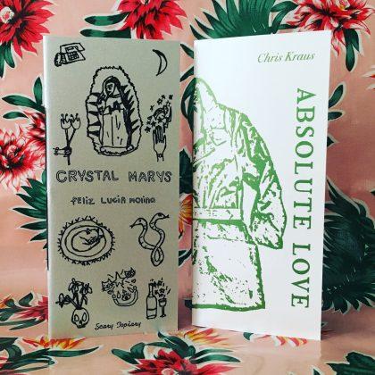 Crystal Marys chapbook (Scary Topiary Press)