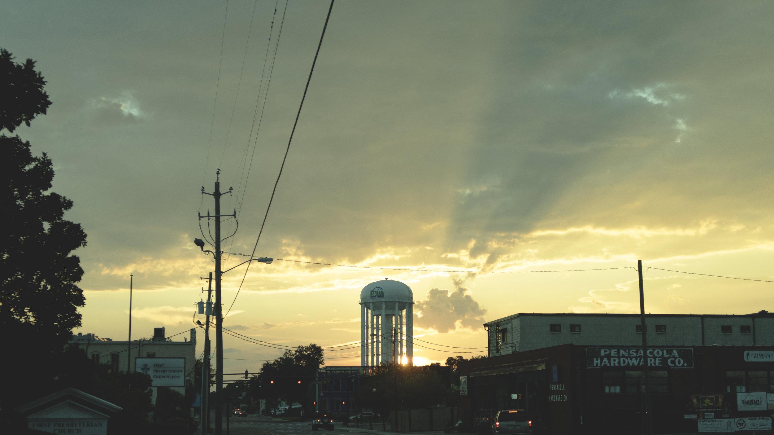 Sunset at Pensacola, Fl.