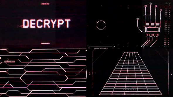 Retro UI - Decrypt by Peter Clark