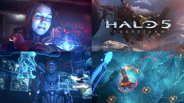 Halo 5 - Guardians Cinematic UI