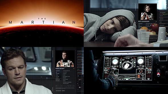The Martian - UI design