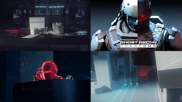 Tom Clancy's Ghost Recon Phantoms UI