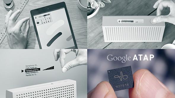 Google Project Soli - Micro-movement gestural UI