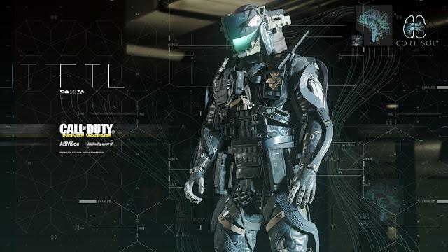 Call Of Duty Infinite Warfare Ui By Ash Thorp Huds Guis
