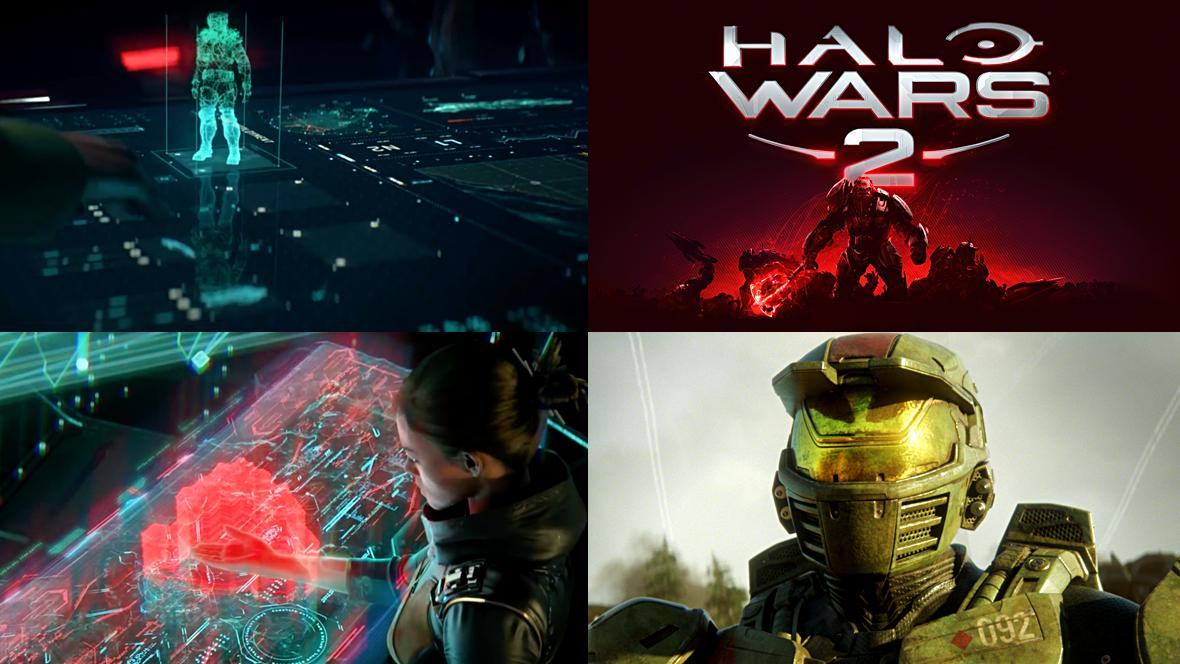 Halo Wars 2 - FUI Supercut — HUDS+GUIS