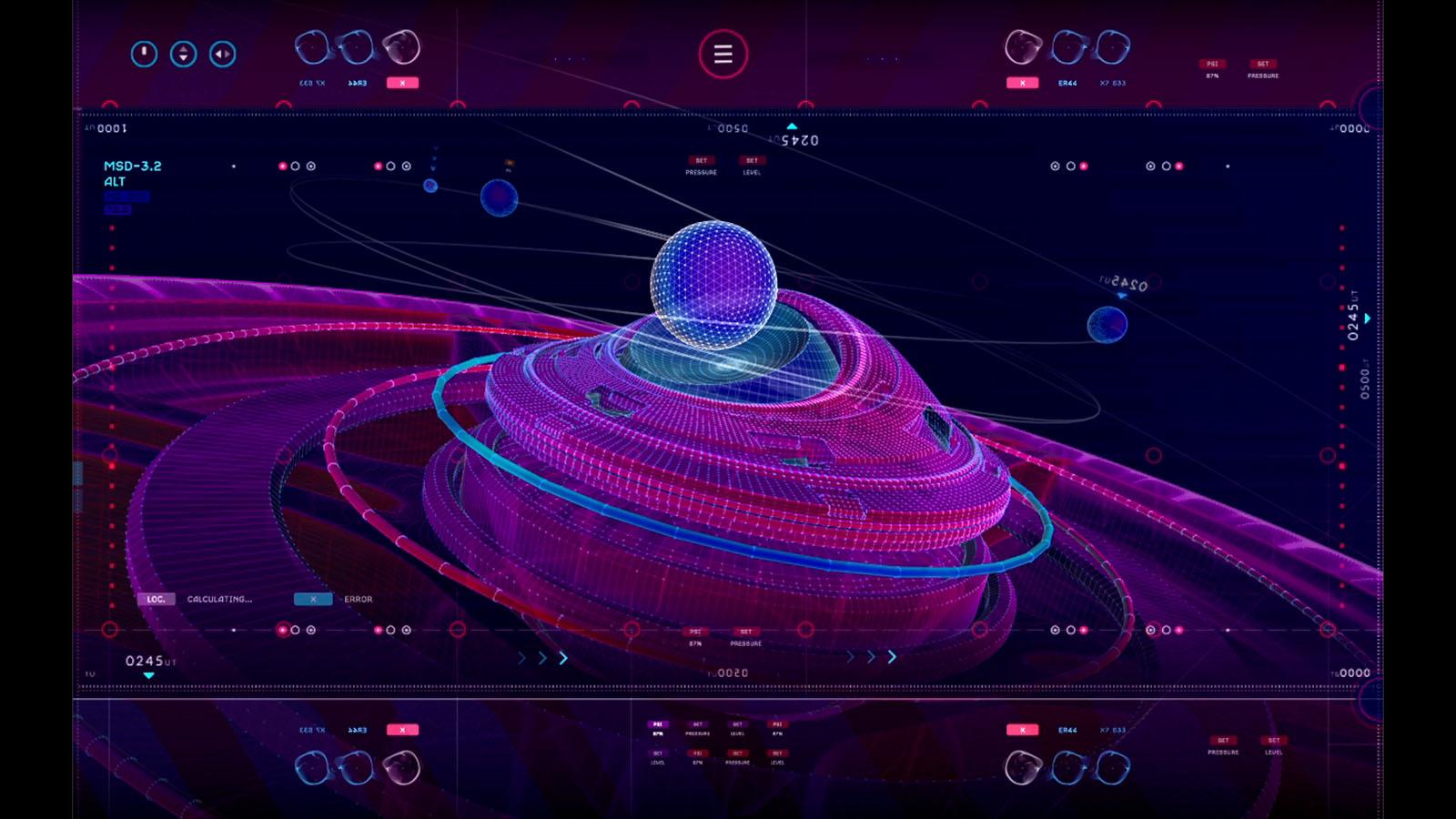 UI do filme Avengers Guerra Infinita.