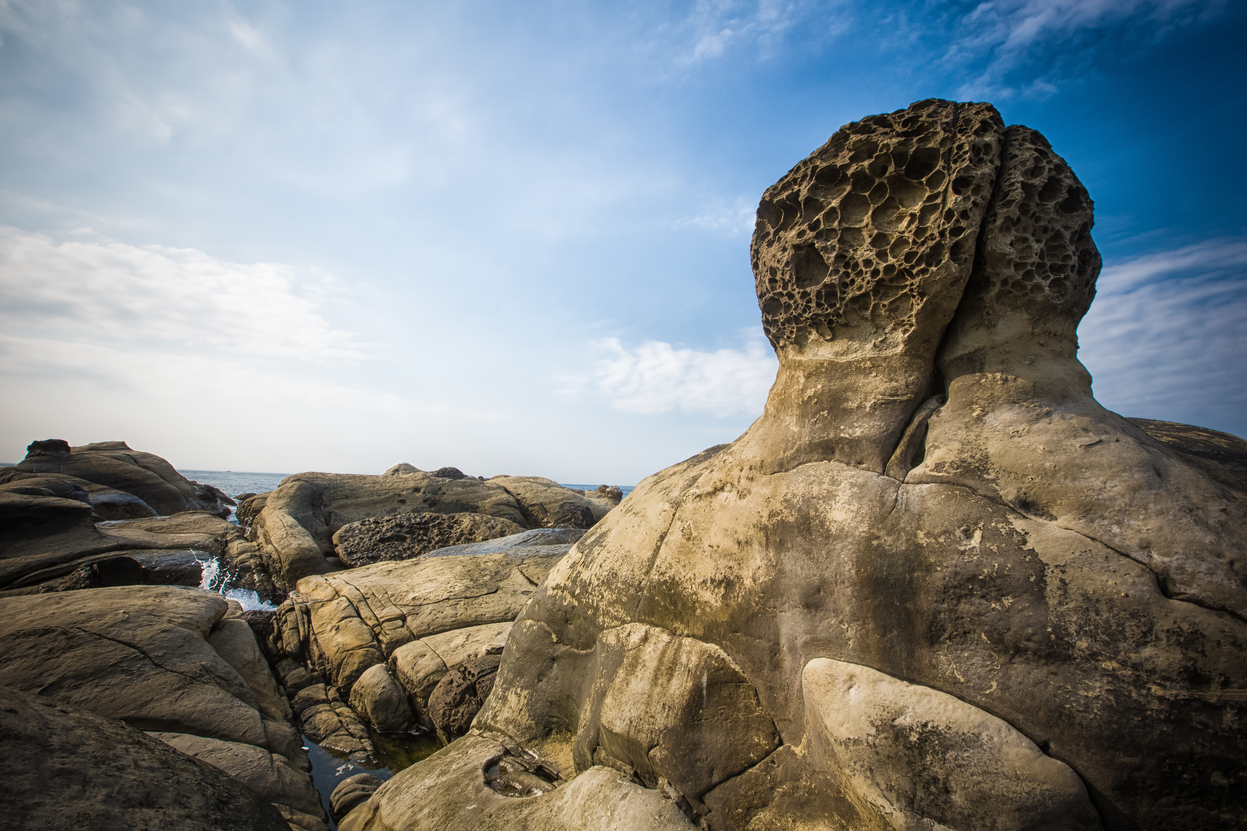 A Mushroom rock.