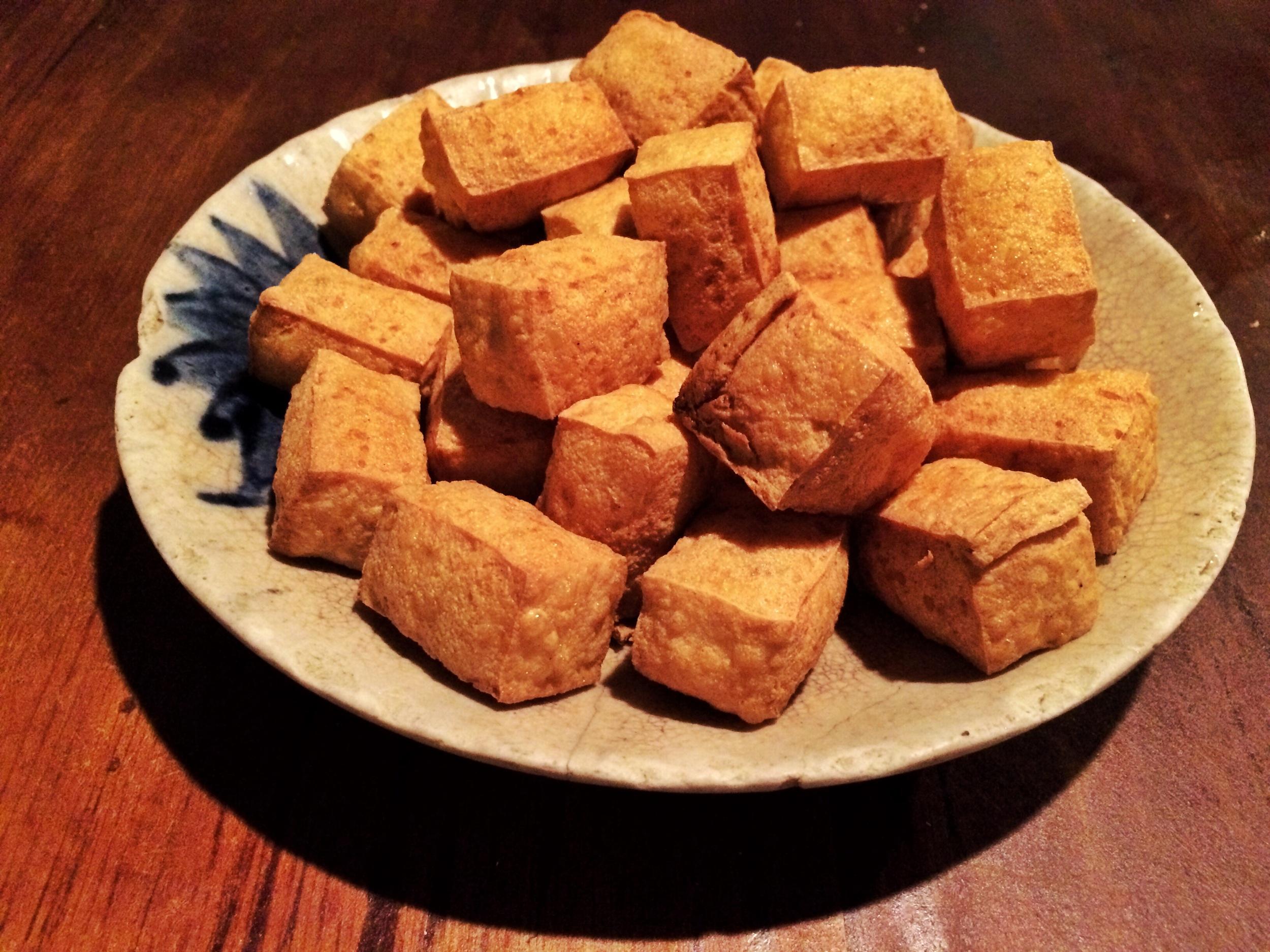 Deep Fried Tofu (炸豆腐)