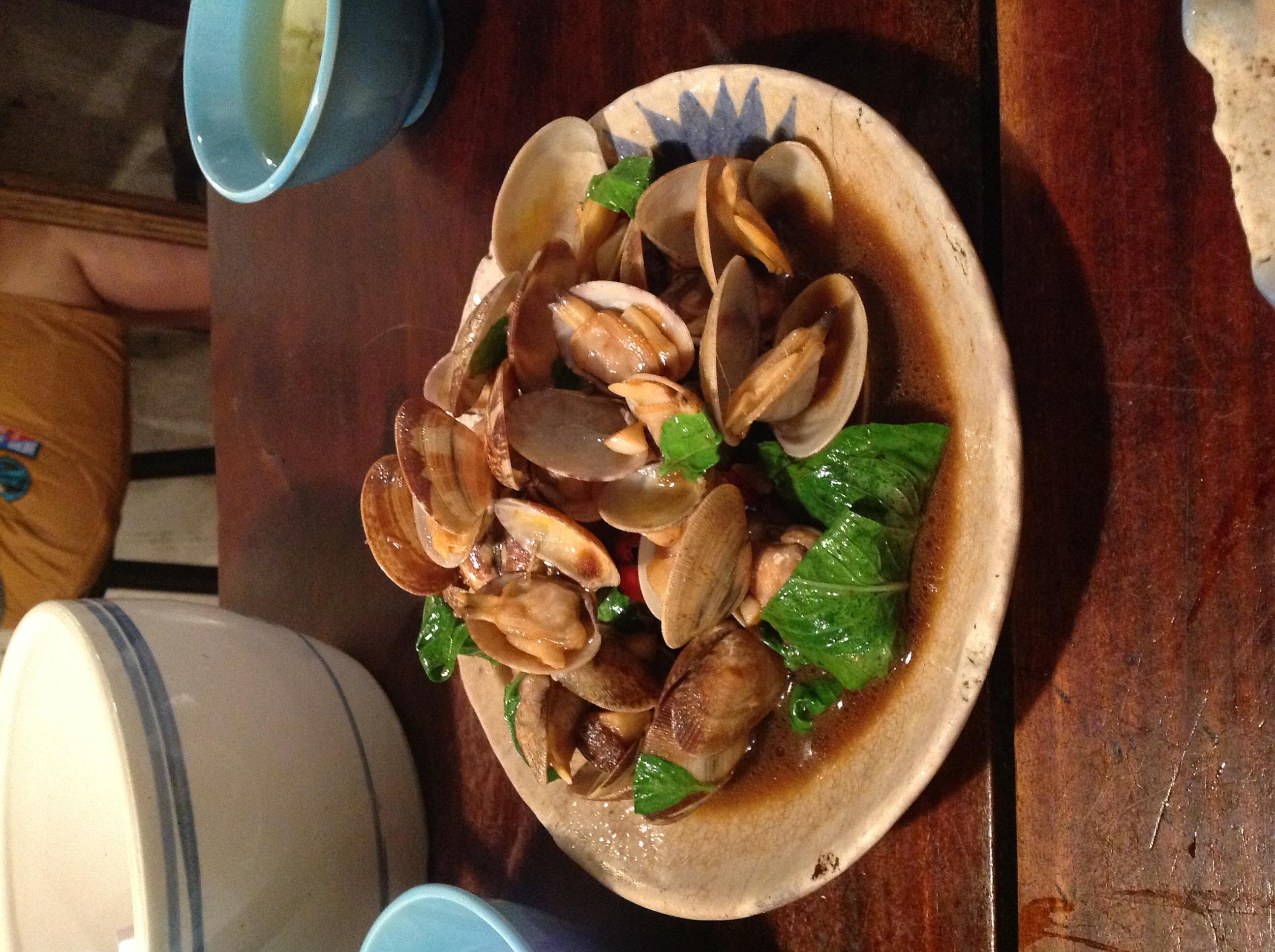 Stir Fried Clams (炒蛤仔)