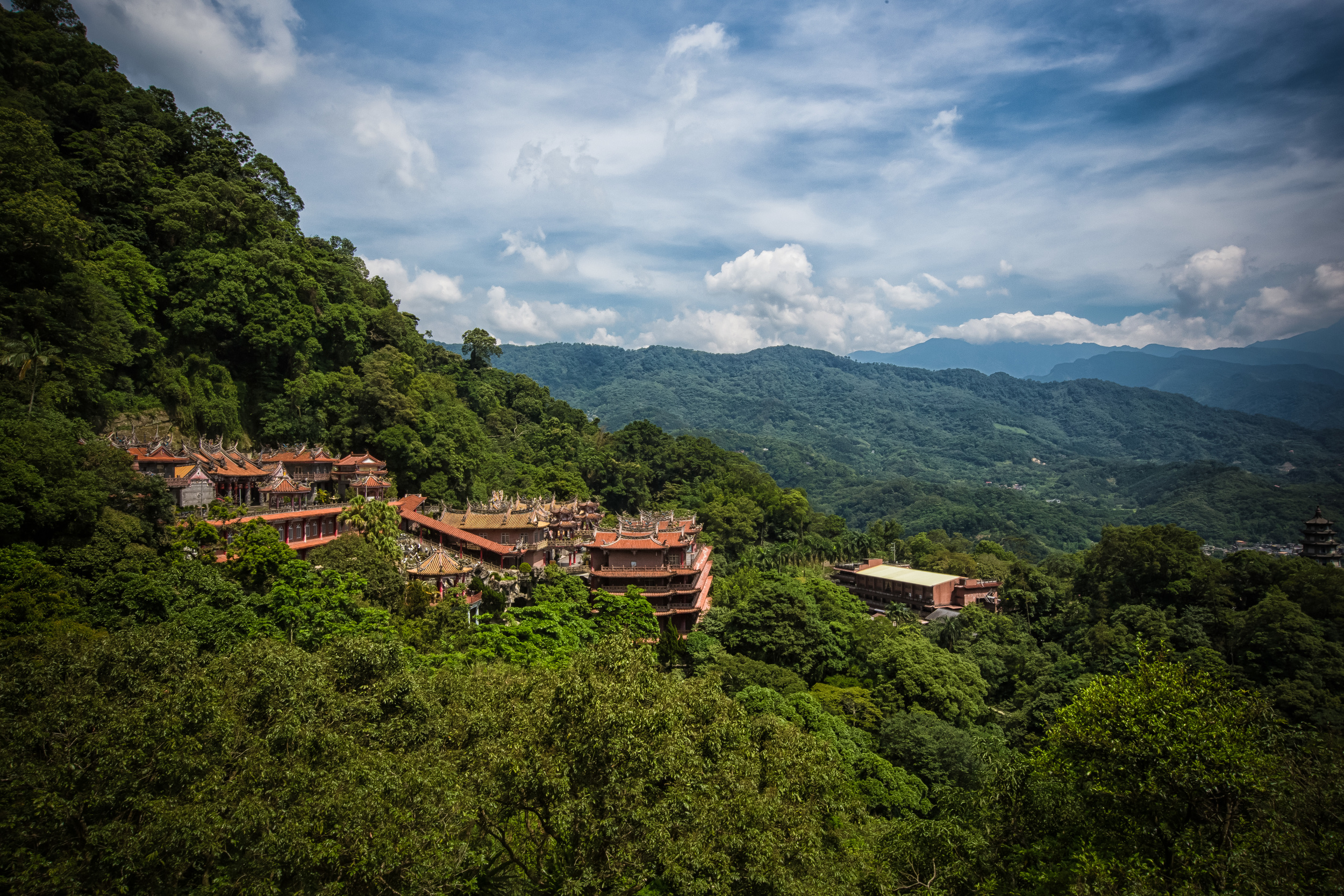 Quan Hua Temple and Fu Tian Temple