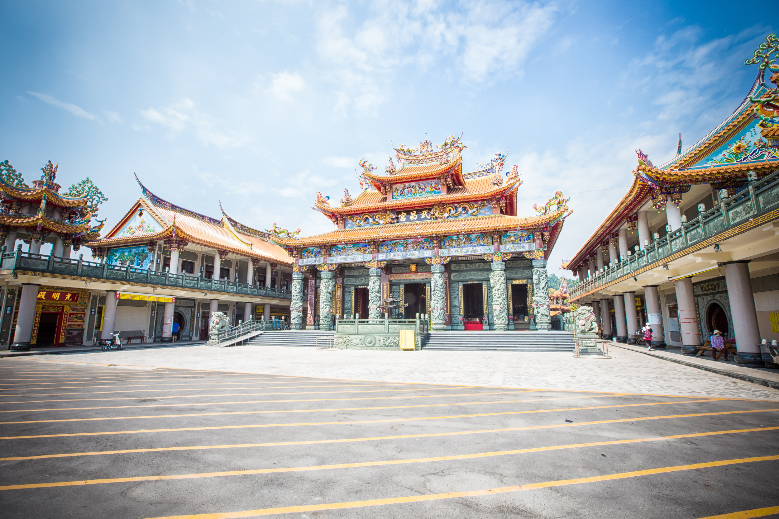 Stay safe Wuchang Temple!