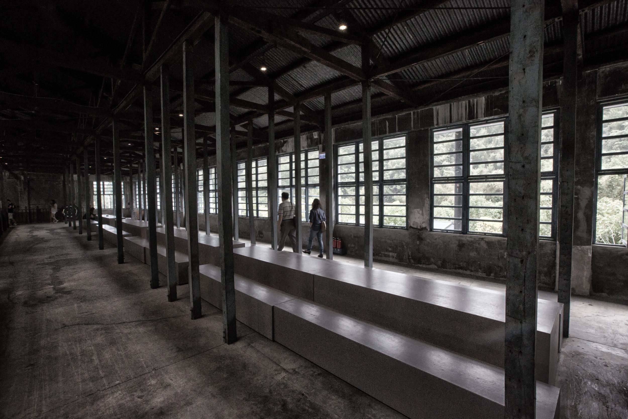 Walking through the warehouse