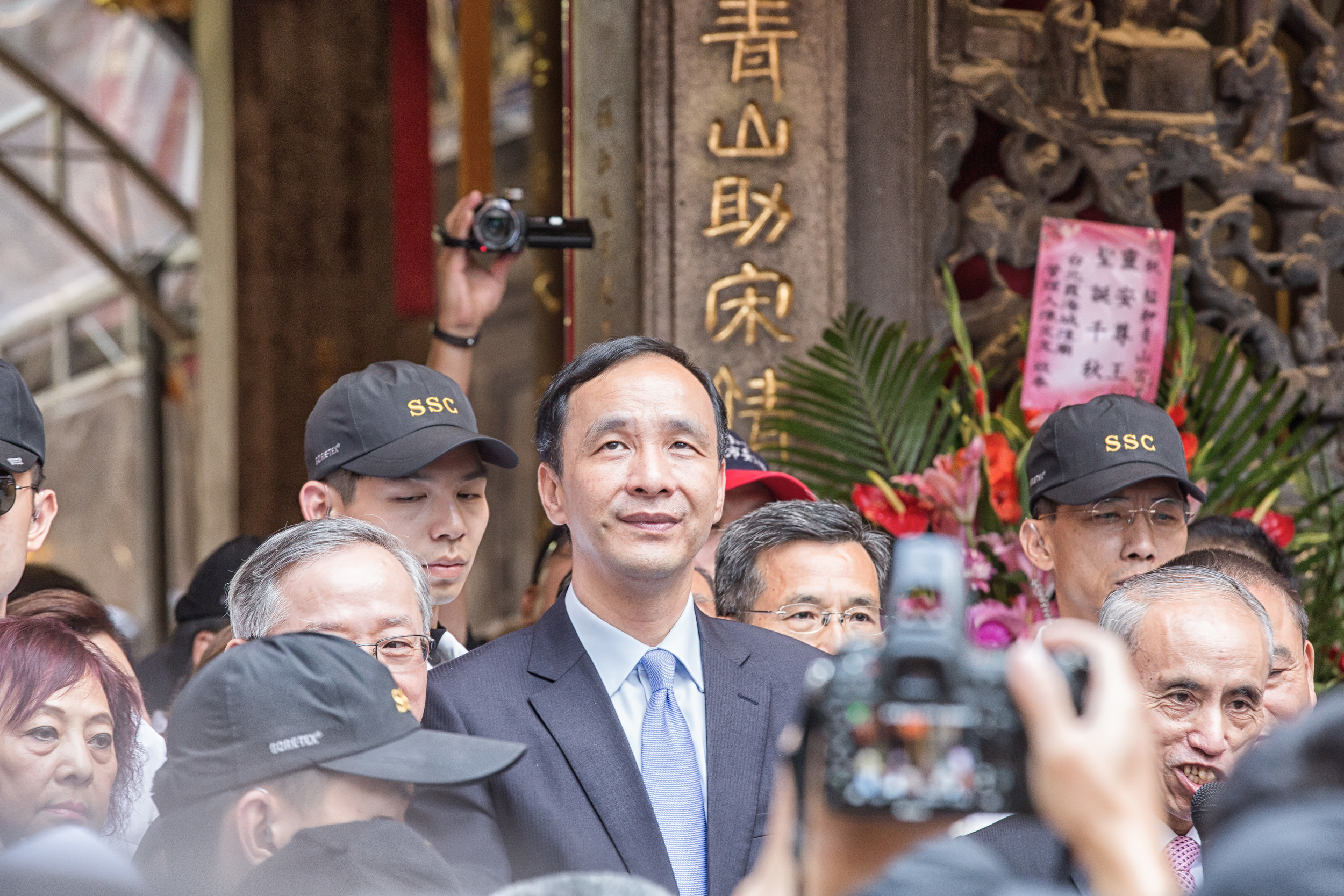Why am I even here asks Presidential Candidate Eric Chu (朱立倫)