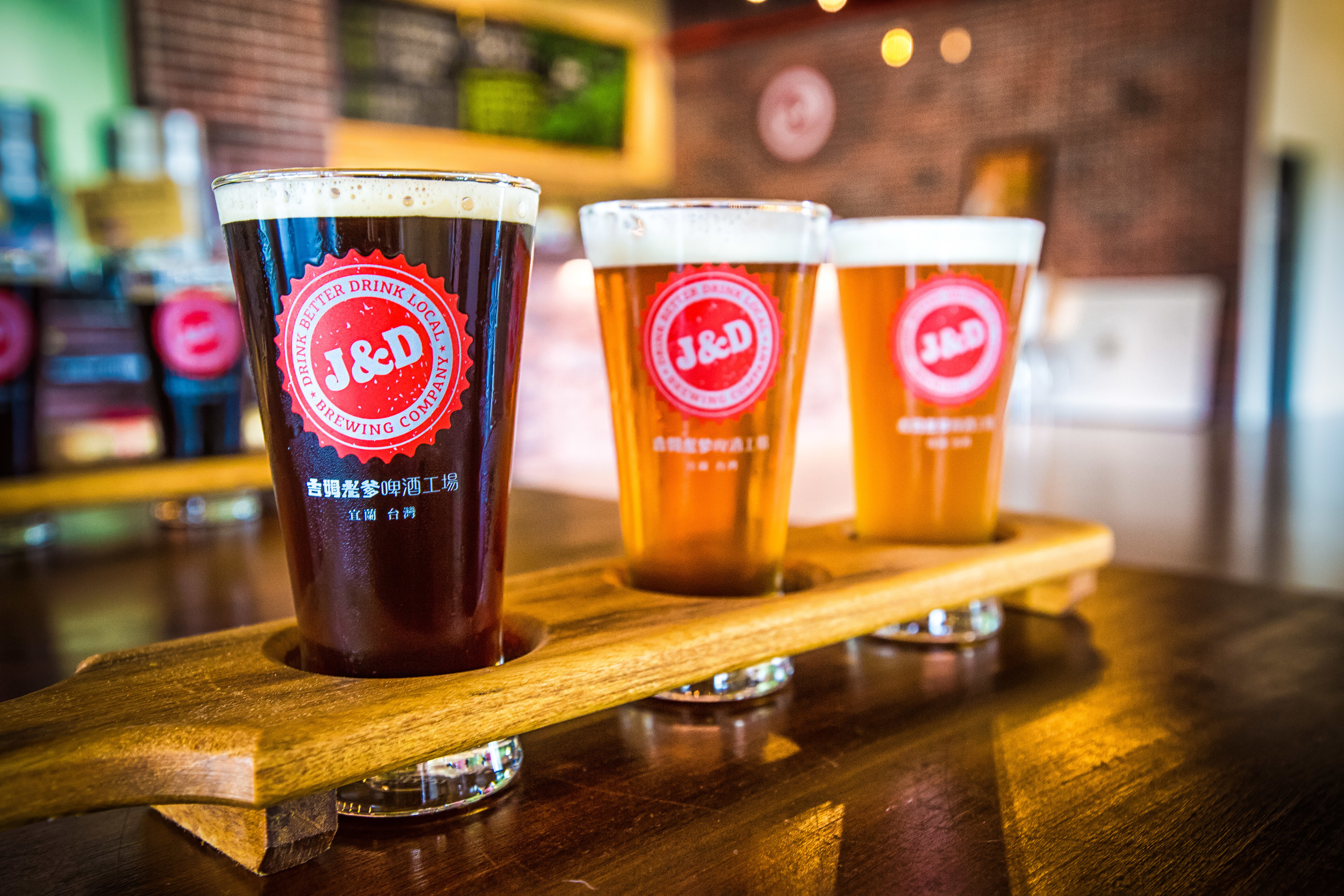Craft Beer:Dark Ale, Citra Pale Ale, India Pale Ale