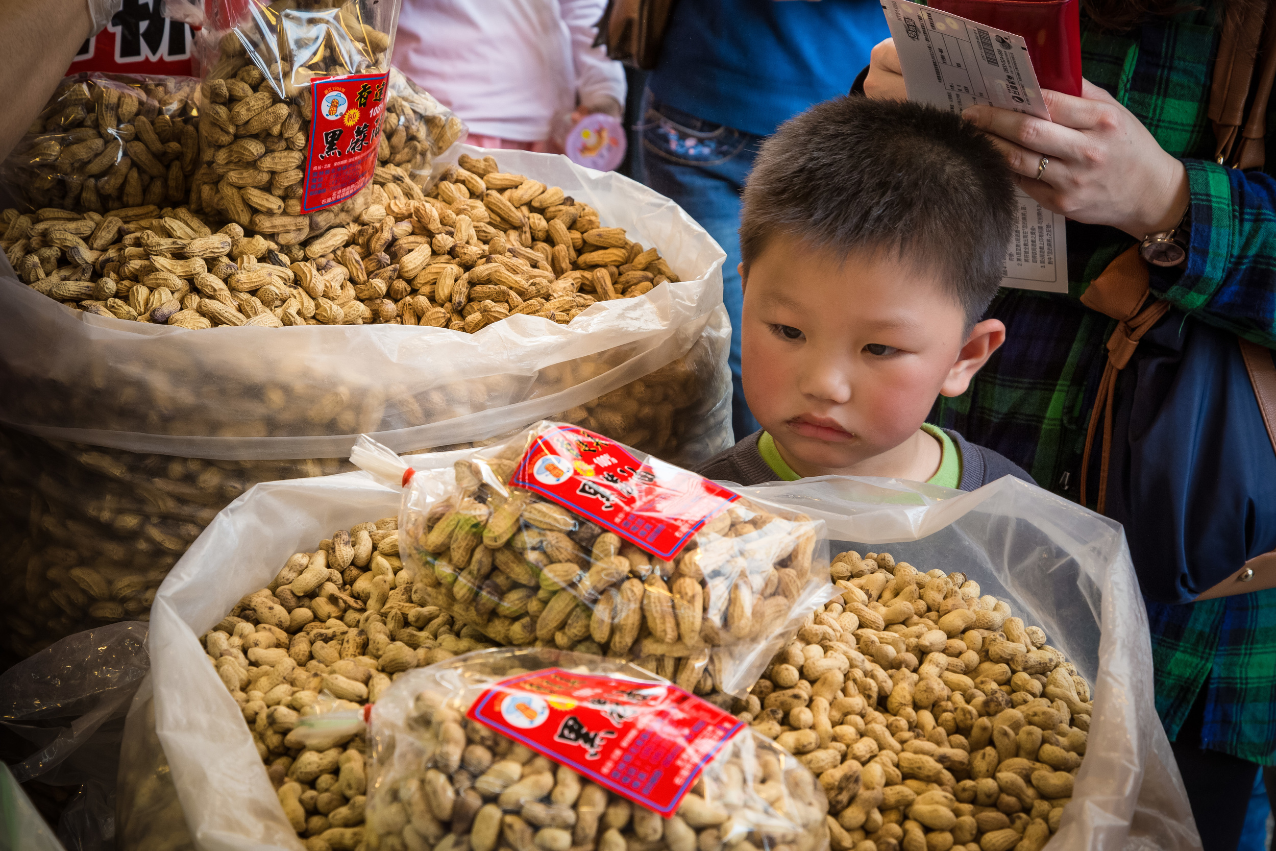 Peanuts are an important export in the area.