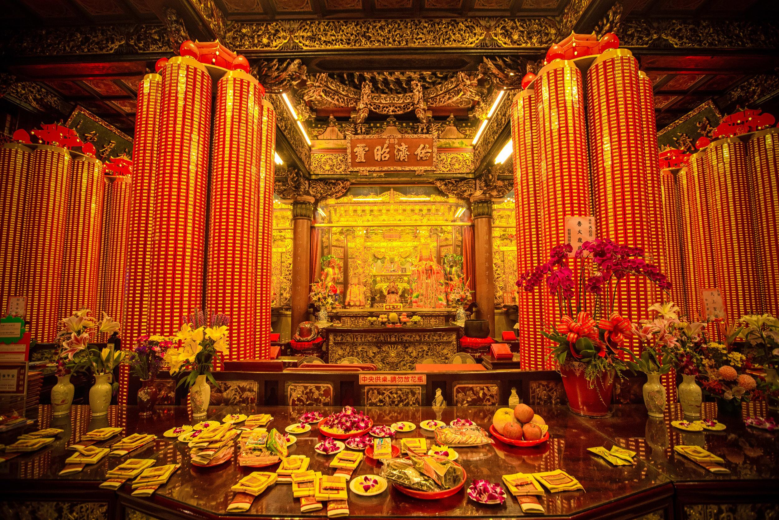 The Main Shrine Room