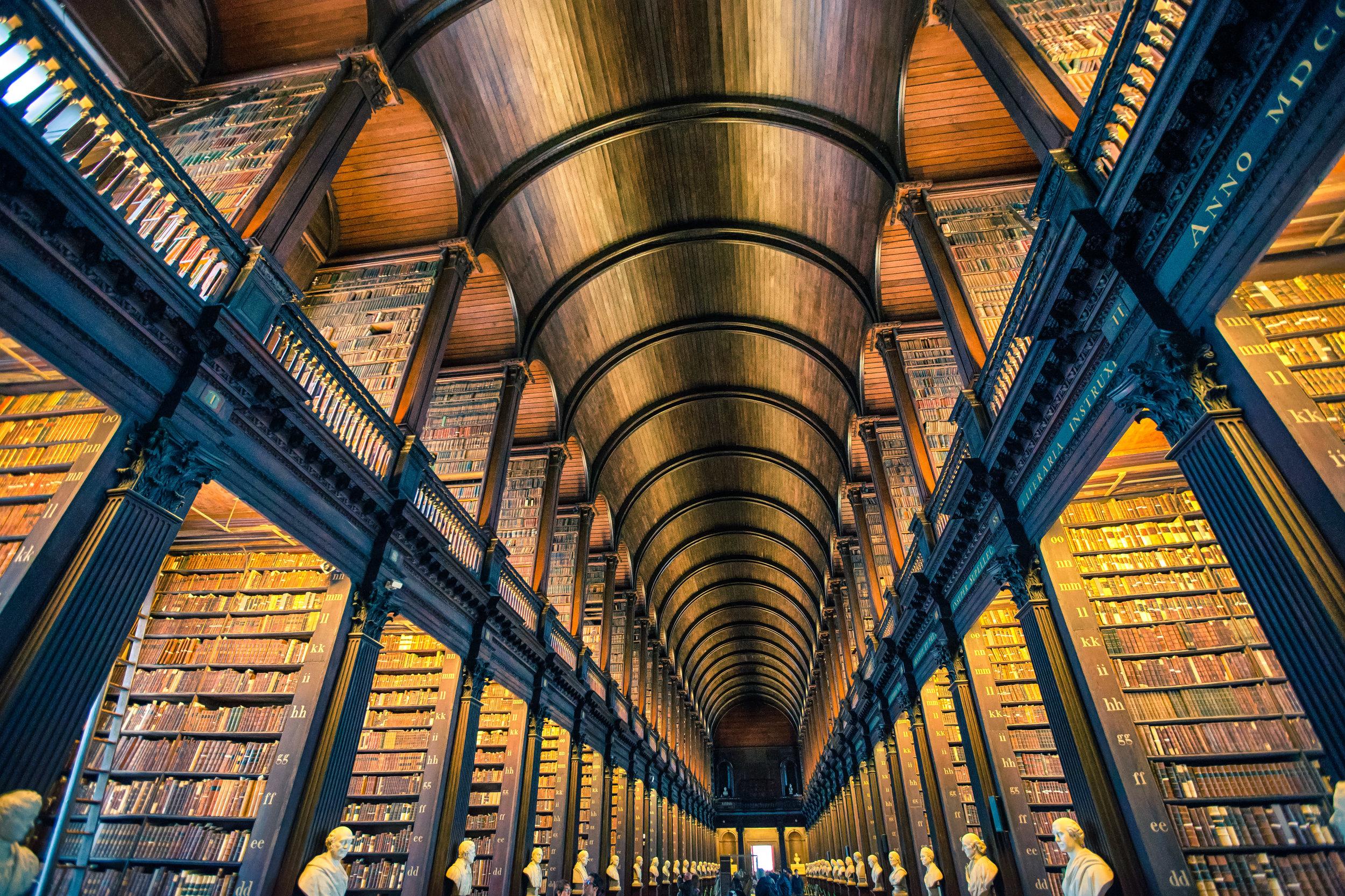 Trinity College Library Josh Ellis Photography