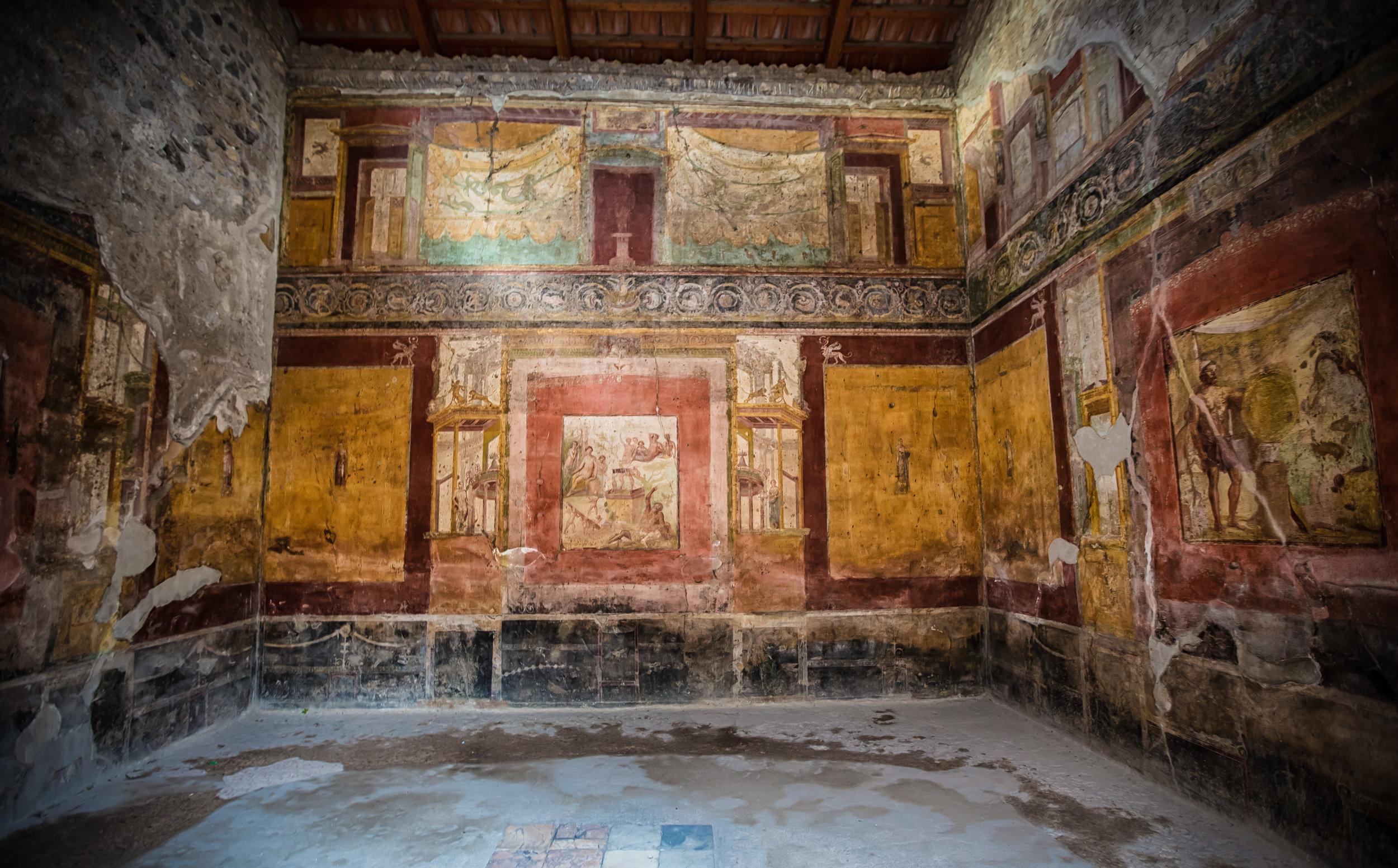 Ancient wall art.