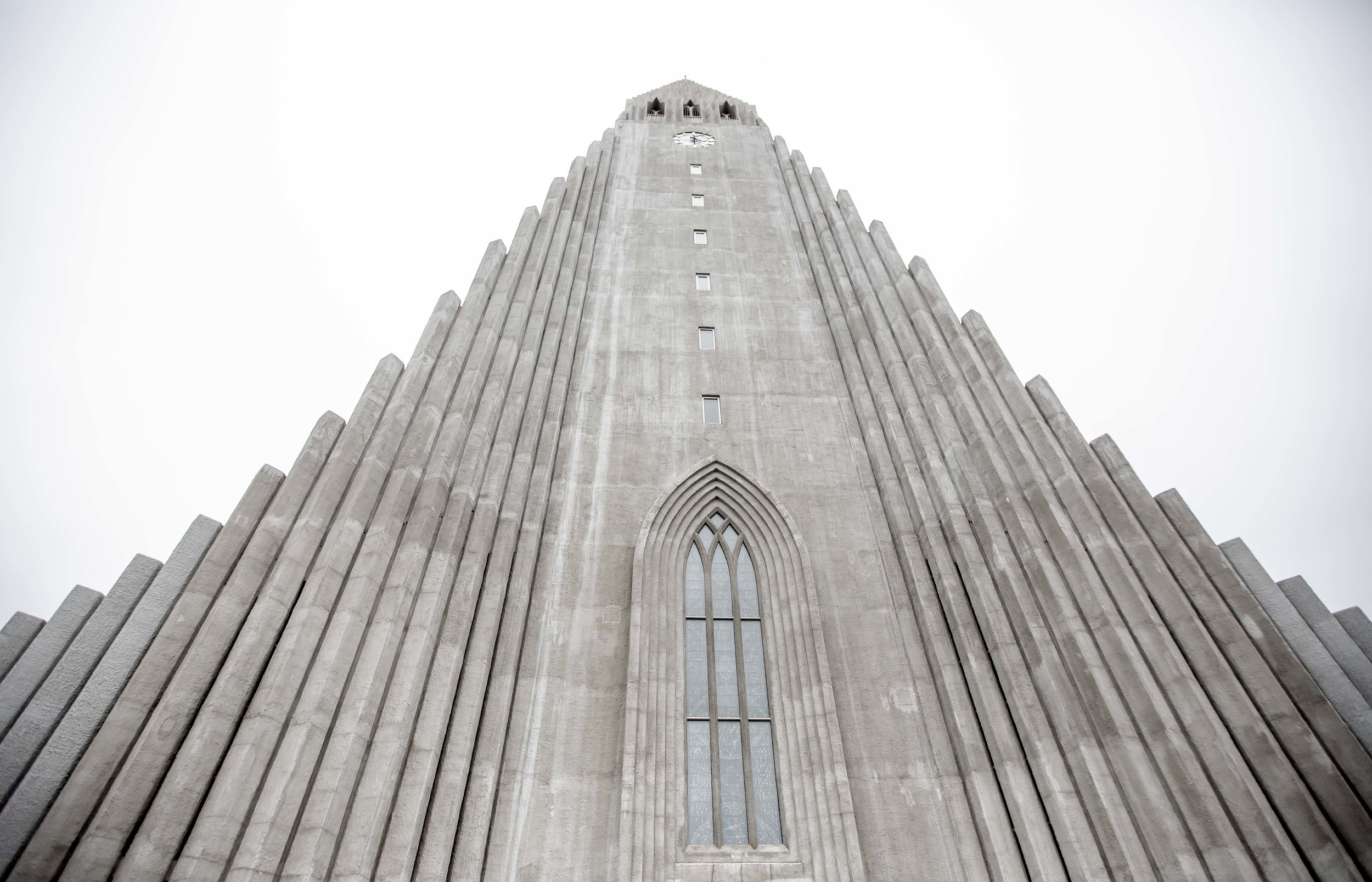 Hallgrímskirkja - Can you see the resemblance?