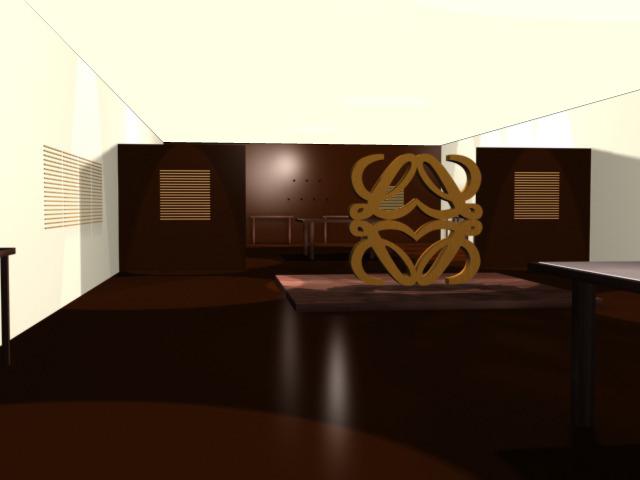 Espacio expositivo para Loewe
