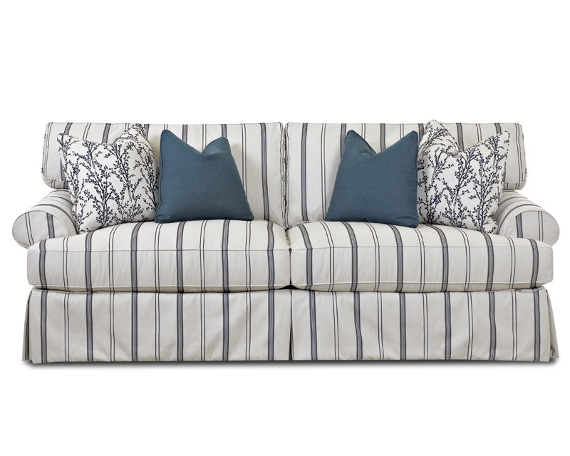 The Nicole Sofa  with loose covers