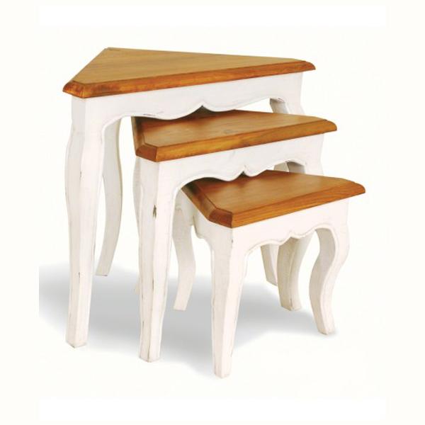PP010/BB  Provence Corner Nest Tables