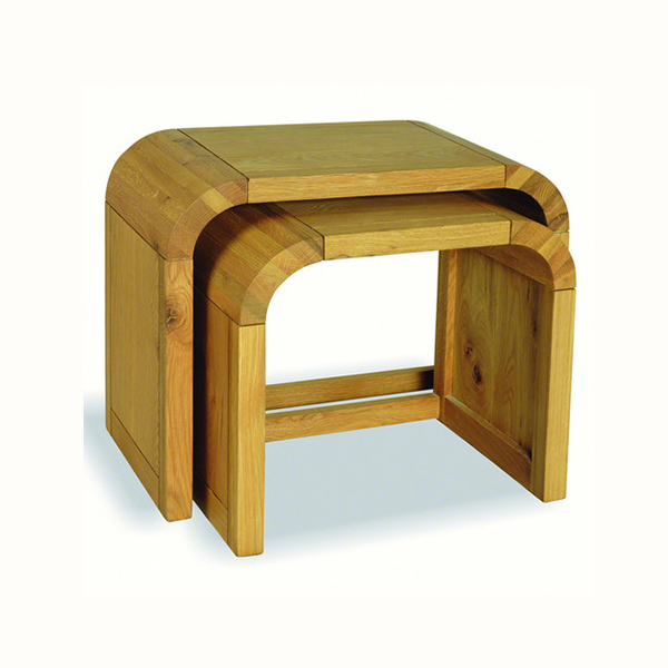 OLN54/BB    Oak Lounge Petit Nest of 2 Tables