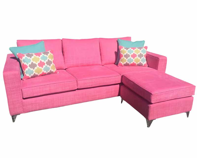 Bespoke Corner Unit-Yours Personally-Custom Made -L shape-pinkcouch-Sofa