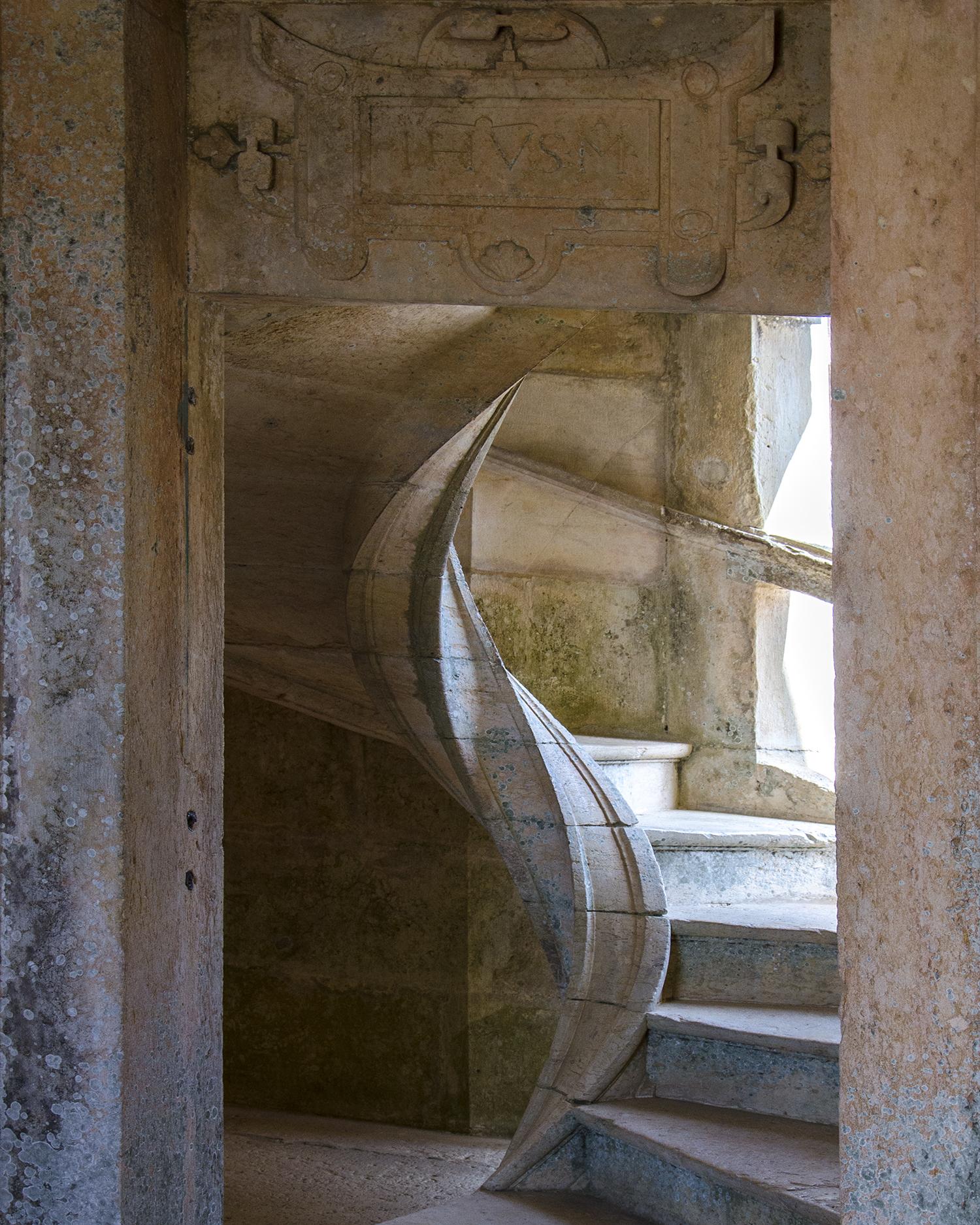 scala a chiocciola convento dell'ordine di cristo Tomar-6819.jpg