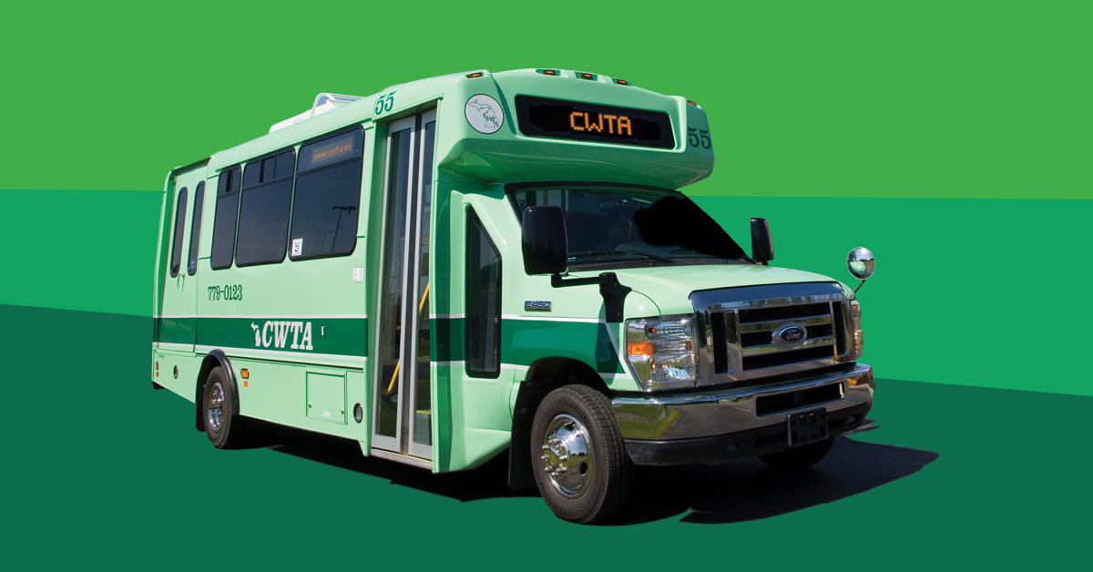 picture of a wexexpress bus.