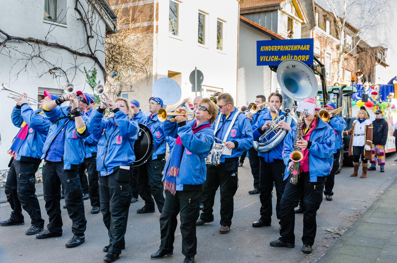 Elk jaar met carnaval treedt het orkest aan bij enkele optochten, ondermeer in Duitsland.