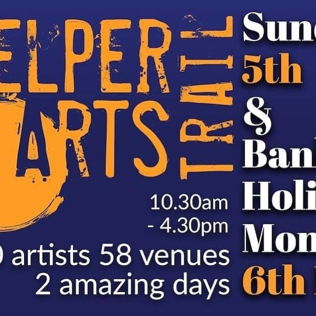 Our opening times over the Arts Trail weekend are: Saturday 4th May 9.30am - 4.30pm Sunday 5th May 10.30am - 4.30pm Monday 6th May 10.30am - 4.00pm #belperartstrail2019 #belperartstrail #lovebelper #belperderbyshire
