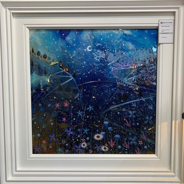 ⭐️Special offer for the Arts Trail weekend⭐️ Original artwork titled The Magic of Make Believe by Wendy Satchwell Acrylic and clear resin on stretched canvas Was £895.00. Arts Trail sale price £595.00 #art #originalart #originalartworks #belperartstrail #belperartstrail2019 #belper #lovebelper