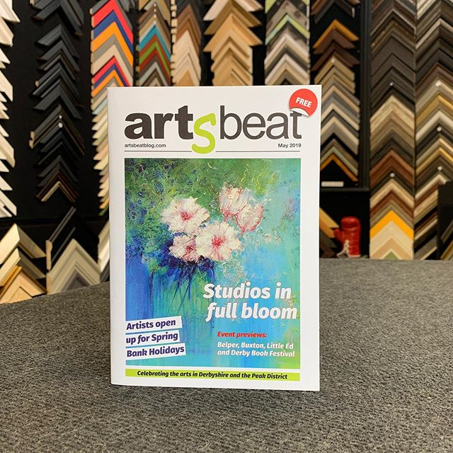 You can pick up a free copy of the latest Artsbeat magazine from the gallery, covering creative art events happening in Derbyshire #artsbeatblog #derbyshire #derbyshireartist #belper #lovebelper #lovebelperofficial #peakdistrictart