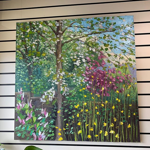 We are featuring artwork by local artist Colin Halliday, call in the gallery to see his work in more detail #fineart #fineartgallery #derbyshireartist #belper #lovebelper