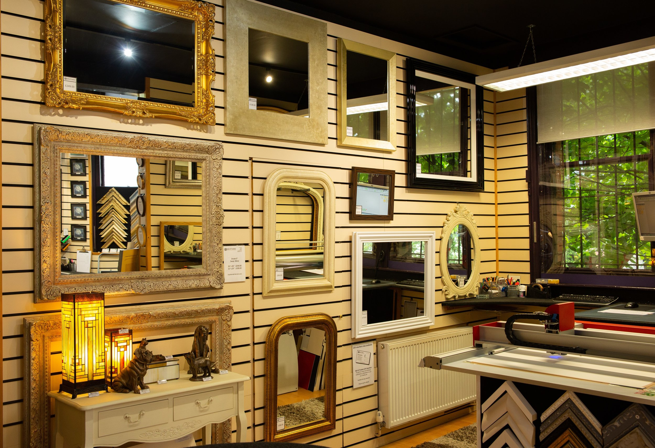 MIRRORS - A well placed mirror is both a practical and decorative feature that adds a finishing touch to your decor.