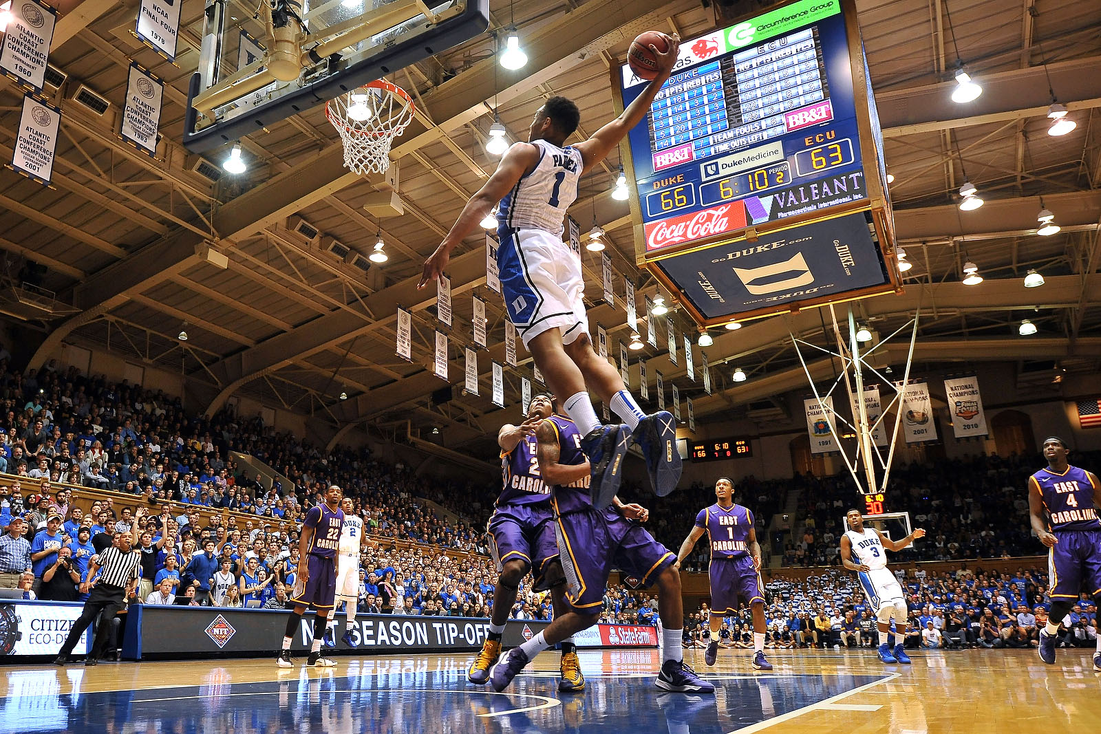 East Carolina v Duke