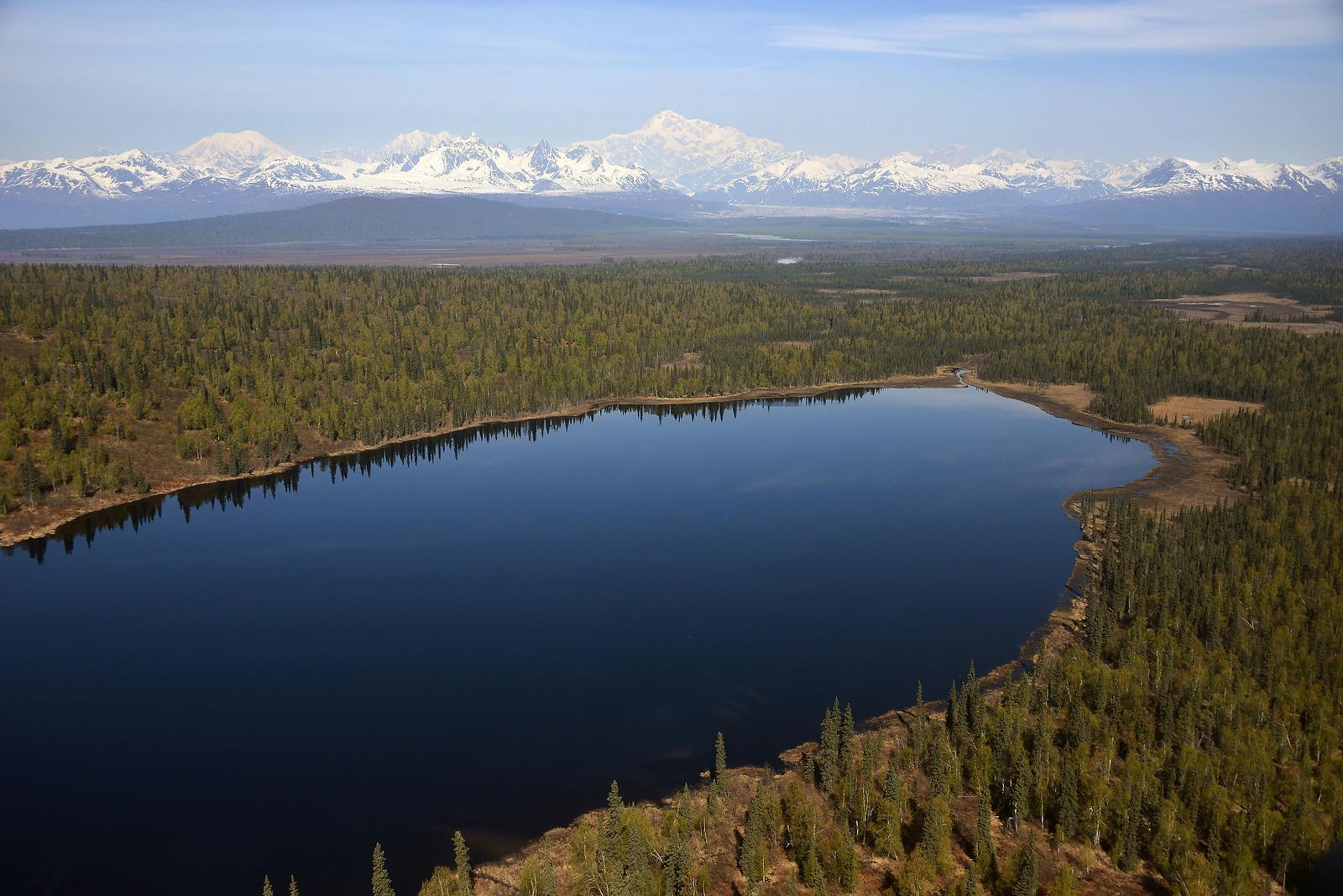 North America's Highest Peak Mt. McKinley, Denali National Park