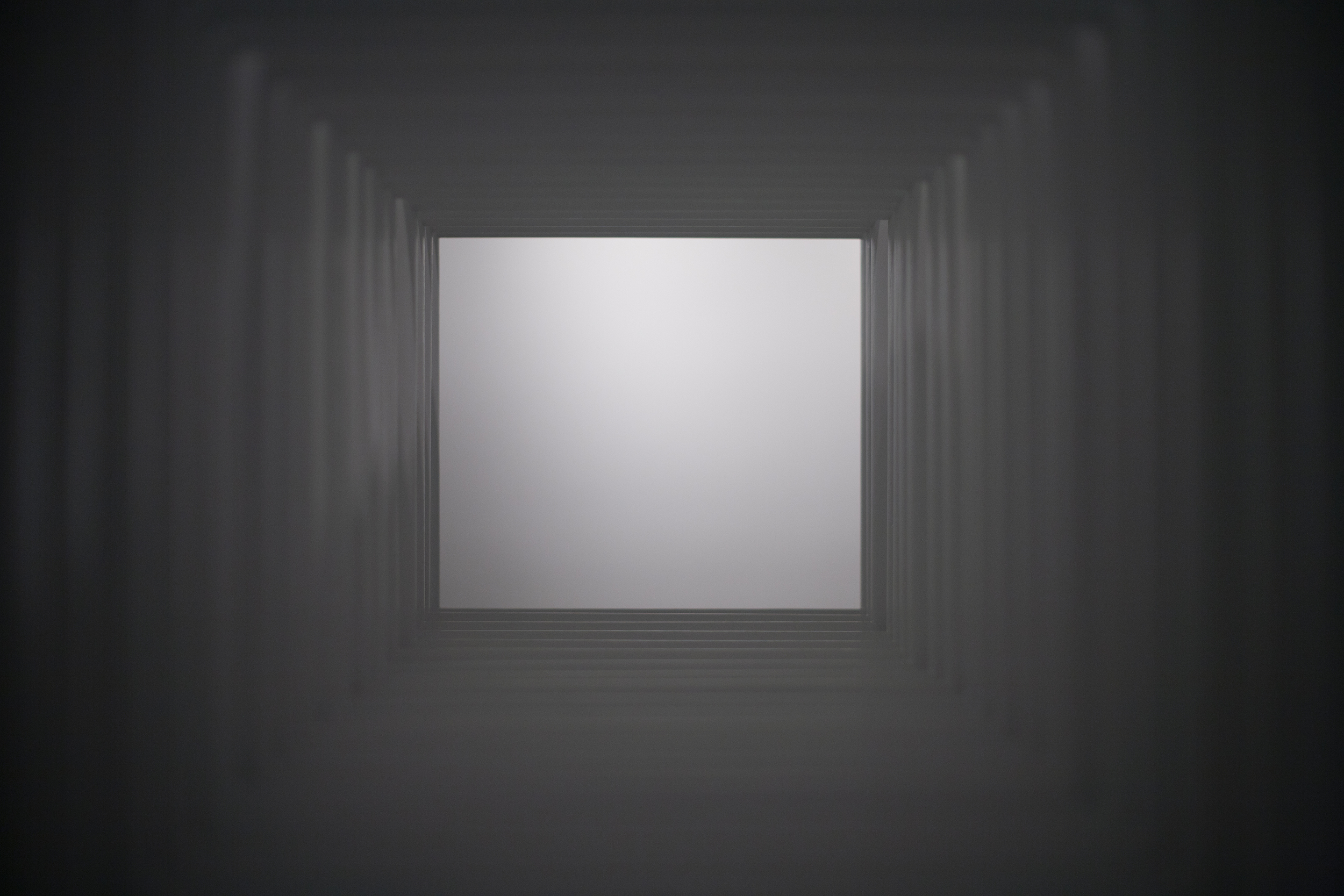 DETAIL: white cube (72 free-standing ladders)